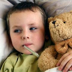 Çocuklar niye kış boyu hasta?
