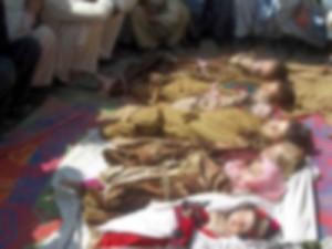 """NATO """"yanlışlıkla"""" 10 çocuk öldürdü"""